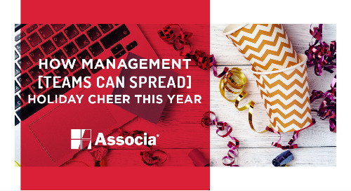 How Management Teams Can Spread Holiday Cheer this Year
