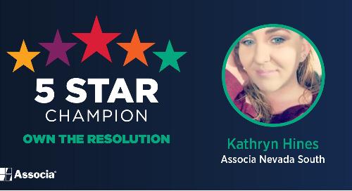 5 Star Champion: Kathryn Hines