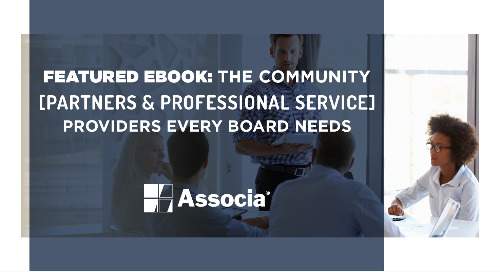 Featured Ebook: The Community Partners & Professional Service Providers Every Board Needs