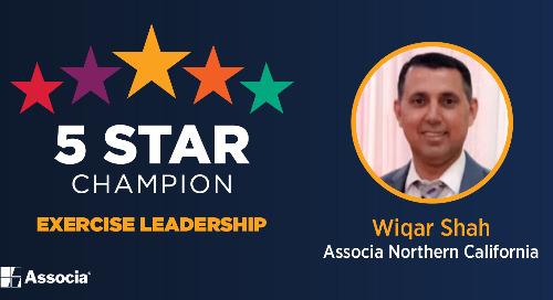 5 Star Champion: Wiqar Shah