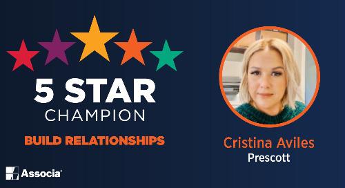 December 5 Star Champion: Cristina Aviles