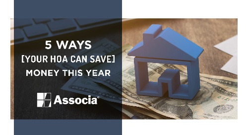5 Ways Your HOA Can Save Money This Year