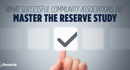 What Successful Associations Do: Master the Reserve Study