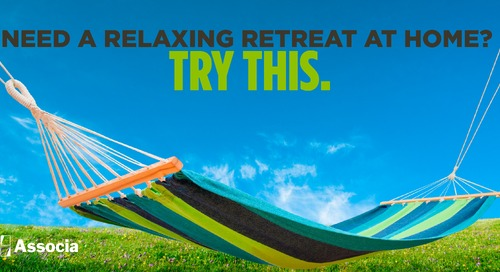 Need a Relaxing Retreat at Home? Try This.