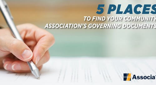 5 Places to Find Your Community Association's Governing Documents