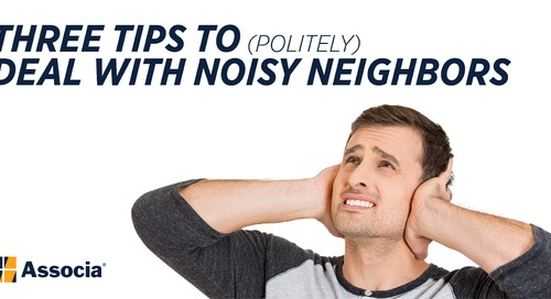Three Tips to (Politely) Deal with Noisy Neighbors