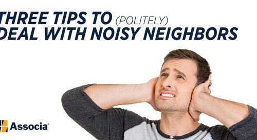 Three Tips to (Politely) Deal with Noisy Neighbors