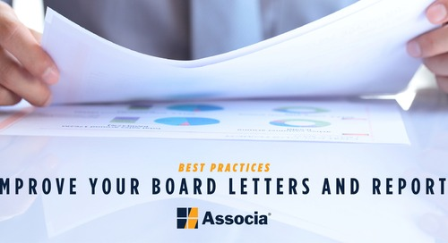 Four Quick Tips to Improve Your Board's Letters and Reports