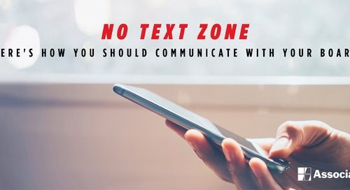 No Text Zone: Here's How You Should Communicate with Fellow Board Members