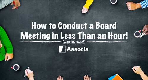 Done by Dinner: How to Conduct a (Meaningful) Board Meeting in Under an Hour (with Downloadable Templates!)
