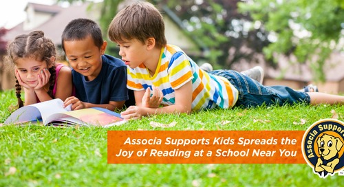 Associa Supports Kids Spreads the Joy of Reading at a School Near You