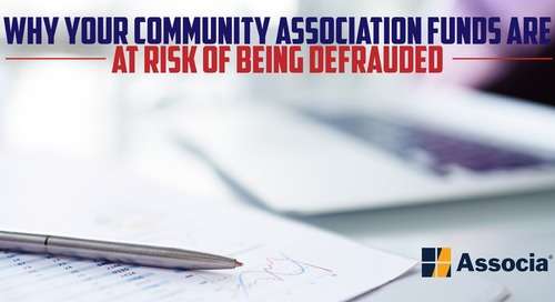 Here's Why Your Community Association Funds are at Risk of Being Defrauded
