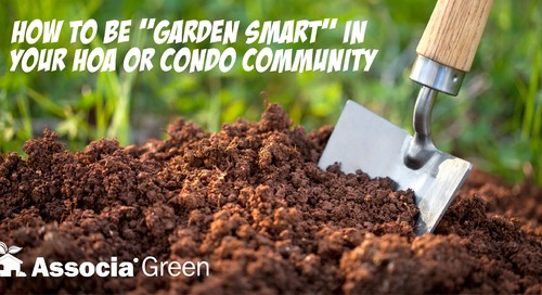"""How to be """"Garden Smart"""" in your HOA or Condo Community"""