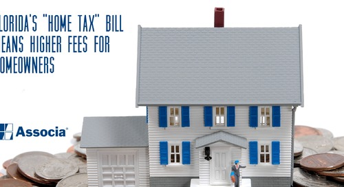 "Florida's ""Home Tax"" Bill Means Higher Homeowner Fees"