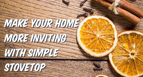 Make Your Home More Inviting with these Simple Stovetop Potpourri Scents