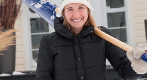 Snow shoveling 101