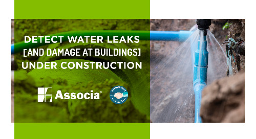 Partner Post: Detect Water Leaks and Damage at Buildings Under Construction