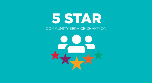 5 Star Community Service Champion
