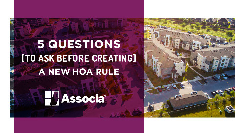 5 Questions to Ask Before Creating a New HOA Rule