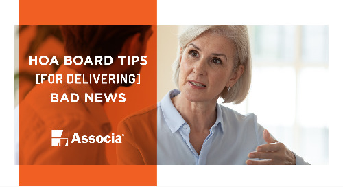 HOA Board Tips for Delivering Bad News