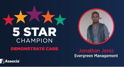 February 2021 5 Star Champion: Jonathan Jerez