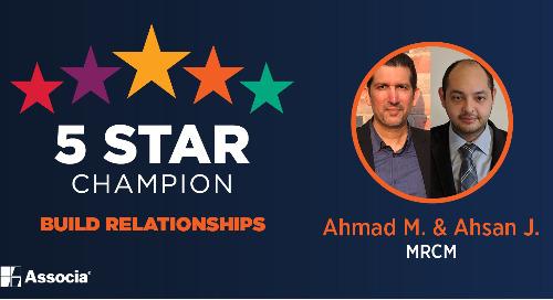 February 2021 5 Star Champion: Ahmad Muhammed and Ahsan Jamil