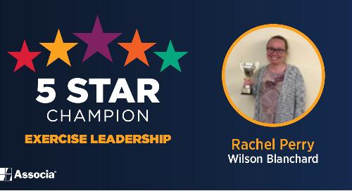 February 2021 5 Star Champion: Rachel Perry