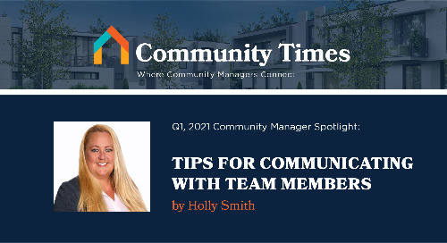 Tips on Communicating with Team Members - By Holly Smith