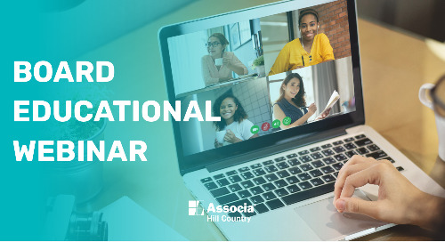 We Are Stronger Together: Board Educational Webinar