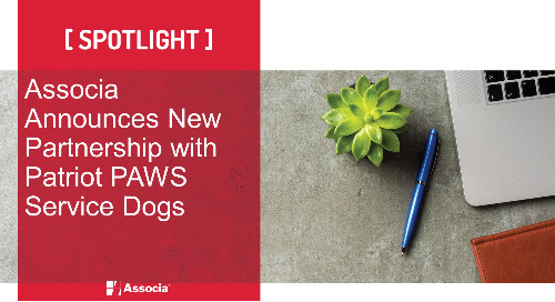 Associa Announces New Partnership with Patriot PAWS Service Dogs