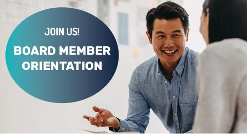 You're Invited: Board Member Orientation
