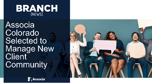Associa Colorado Selected to Manage New Client Community