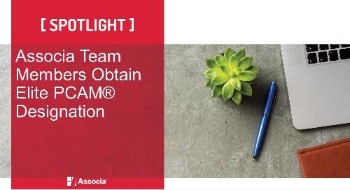 Associa Team Members Obtain Elite PCAM® Designation