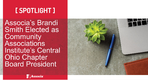 Associa's Brandi Smith Elected as Community Associations Institute's Central Ohio Chapter Board President