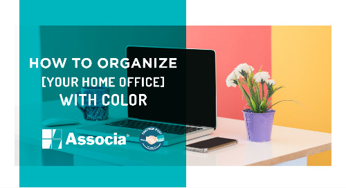Partner Post: How to Organize Your Home Office with Color