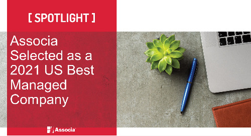 Associa Selected as a 2021 US Best Managed Company