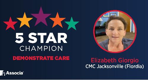 2021 March 5 Star Champion: Elizabeth Giorgio