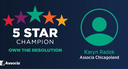 2021 March 5 Star Champion: Karyn Radek