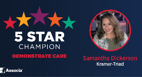 2021 April 5 Star Champion: Samantha Dickerson