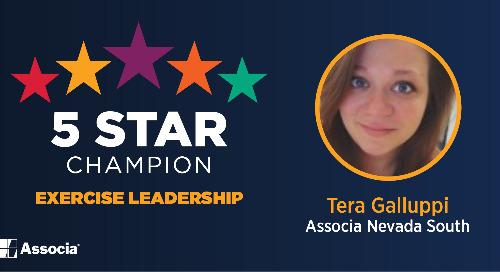 2021 April 5 Star Champion: Tera Galluppi