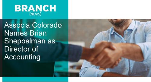 Associa Colorado Names Brian Sheppelman as Director of Accounting