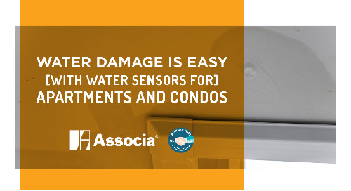 Partner Post: Water Damage is Easy with Water Sensors for Apartments and Condos