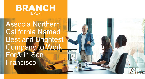 Associa Northern California Named Best and Brightest Company to Work For® in San Francisco