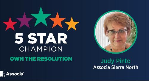 2021 June 5 Star Champion: Judy Pinto