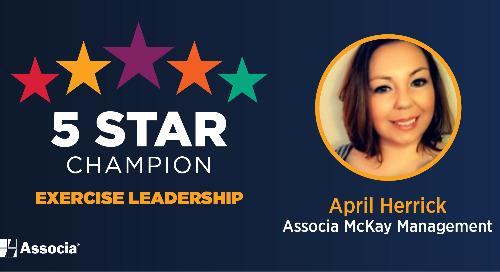 2021 June 5 Star Champion: April Herrick