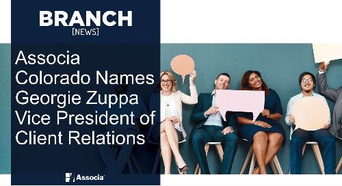 Associa Colorado Names Georgie Zuppa Vice President of Client Relations
