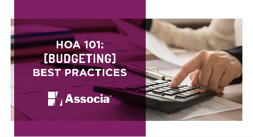 HOA 101: Budgeting Best Practices