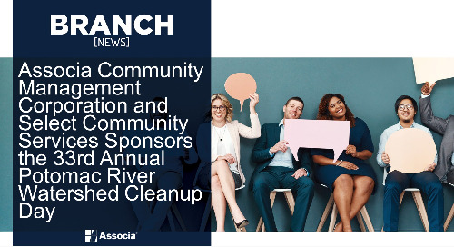 Associa Community Management Corporation and Select Community Services Sponsors the 33rd Annual Potomac River Watershed Cleanup Day