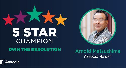 2021 May 5 Star Champion: Arnold Matsushima