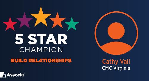 2021 May 5 Star Champion: Cathy Vail